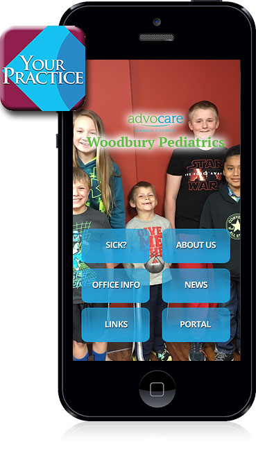 Woodbury Pediatrics Mobile App